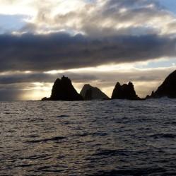 Solander Islands Sunset